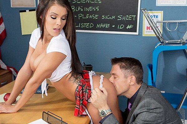 Peta Jensen Mega Busty Hardcore Schoolgirl